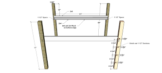 Free Plans For Building A Bunk Bed by Free Diy Furniture Plans How To Build A Queen Sized Low Loft
