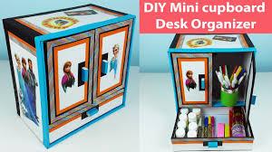 3 Drawer Desk Organizer by Diy Mini Cupboard Desk Organizer Drawer Organizer Out Of