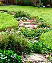 Alternative To Grass In Backyard by Reducing Your Lawn With Beautiful Alternatives Diana U0027s Designs