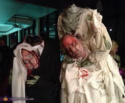 Zombie Bride Groom Halloween Costumes Bride Groom Couples Costume