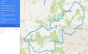 National Parks Utah Map by Hiking U2013 Welcome To Yunan Liu U0027s Homepage