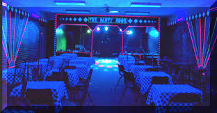 house party ideas how to decorate for a black light party popular home design