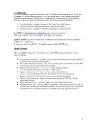 Sap Basis Resume Sample sap basis made easy