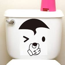 online shop dctop 24 styles big mouth toilet stickers funny vinyl
