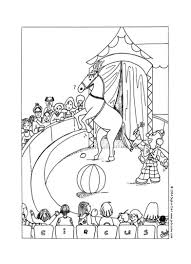 circus coloring pages to print virtren com