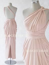 2017 new style blush multiform bridesmaids dress infinity