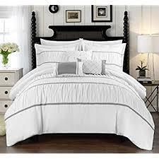 Kardashian Bedding Set amazon com chic home 8 piece lauren contemporary comforter set