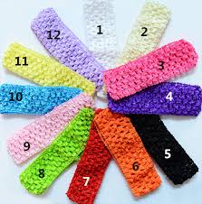 stretchy headbands wholesale u color baby girl s 4cmx 15cm baby stretchy