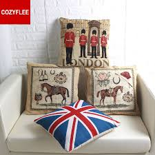 Blue Union Jack Cushion Online Buy Wholesale Union Jack Cushion Cover From China Union