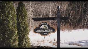 Twin Pine Bed And Breakfast by Overnight Vacation In Port Hope Moonlight U0026 Pines B U0026b Youtube