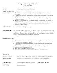 Tutor Resume Sample by 19 Substitute Teacher Job Description For Resume Tutor Resumes