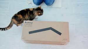 Cat Scratchers Cardboard Unboxing Katris Lynks Modular Cat Scratcher Catslovecardboard