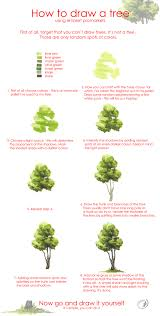 tree drawing tutorial by morpho deidamia deviantart com on