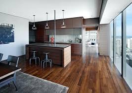 cuisine sol parquet deco bois naturel dacco cuisine bois brut avec revatement de sol en
