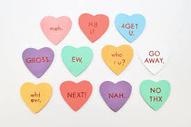 valentines heart candy sayings diy anti s day candy heart magnets