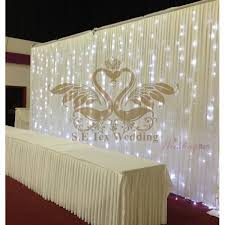 wedding backdrop led online get cheap wedding backdrop curtain led aliexpress