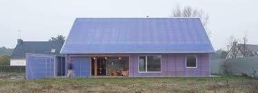 Energy House by Brut Architectes Builds Low Energy Pen Du House In France