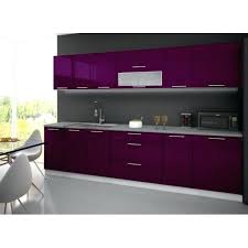 meuble cuisine violet meuble cuisine couleur aubergine cuisine complate 3m tarn laquace