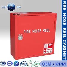 Direct Cabinet Sales Fire Hose Reel Cabinet Factory Direct Sales Wall Mounted Type Mild
