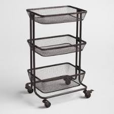 Bathroom Basket Storage Bathroom Cabinets U0026 Rolling Storage Carts World Market