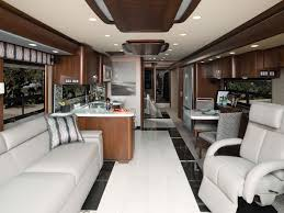 modern interiors for a modern motorhome story full
