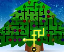 christmas tree light game santa games org santa claus games