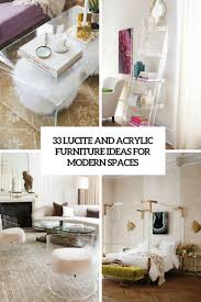 lucite desk accessories 33 lucite and acrylic furniture ideas for modern spaces digsdigs