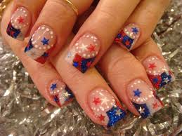 fourth of july nails three easy designs youtube nail art