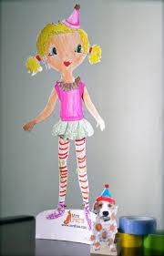 diy paper doll tutorial