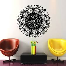 Decoration Geometric Wall Decals Home by Online Buy Wholesale Yoga Room Decoration From China Yoga Room
