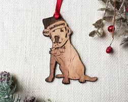 labrador ornament etsy