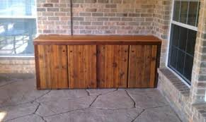 matchless storage cabinets for deck from wormy chestnut wood