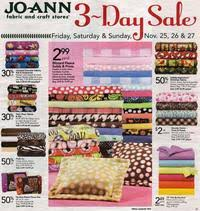 joann black friday joann fabrics black friday 2011 ad scan