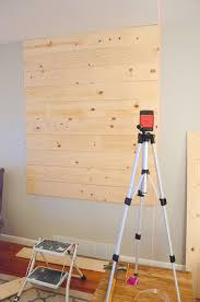 Painted Shiplap Walls Diy Wood Plank Shiplap Accent Wall The Golden Sycamore
