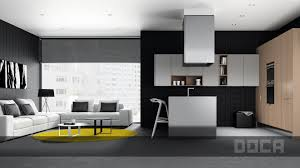 Custom Modern Kitchens For Your Loft From Doca