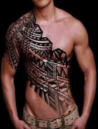 arm and chest tribal tattoos chest and arm tattoos design best