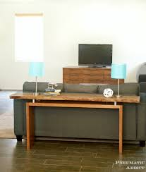build a console table pneumatic addict floating top console table building plans
