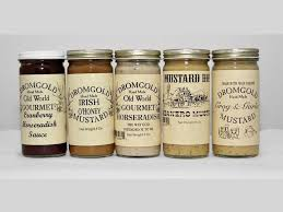 gourmet mustard food gifts to give to the host and hostess