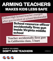 High School Teacher Memes - arming teachers makes kids less safe dalton high school teacher
