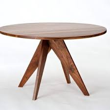 round walnut dining table round dining table walnut by randy hornman woodworking
