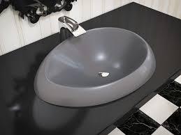 Bathroom Sink Stone Aquatica Organic Sink Coffee Cast Stone Washbasin