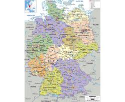 Germany Map Freiburg by Maps Of Germany Detailed Map Of Germany In English Tourist Map