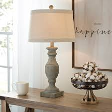 blue and gray wash table lamp traditional living rooms and bedrooms