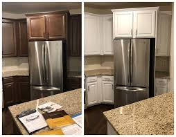 how to restain cabinets the same color custom cabinet refinishing cabinet painting n hance of