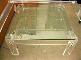 Lucite Coffee Table Ikea Lucite Coffee Table Square Coffee Table Large Square Coffee Table