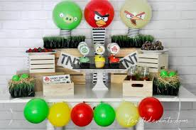 angry birds party free printables