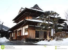 traditional japanese house stock photo image 29189890