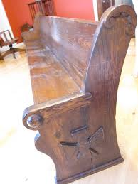 Church Pew Style Bench Bench Pew Benches For Sale Wooden Benches Custom Wood Old Church