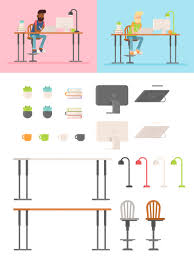 Happy Home Designer Duplicate Furniture by How To Draw A Flat Designer Character In Adobe Illustrator