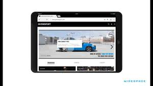 volvo website uk half screen tablet swipe volvo v40 q3 r design uk youtube